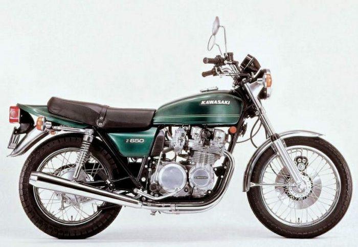 Kawasaki Z650 1976 - 3