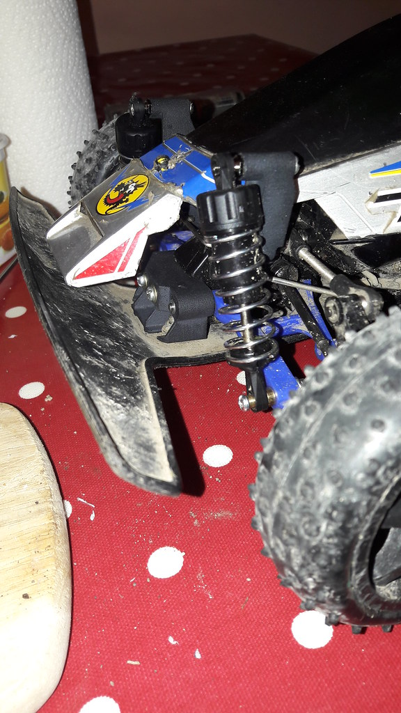 Thunder Dragon Super A5 part and new front shock mounts