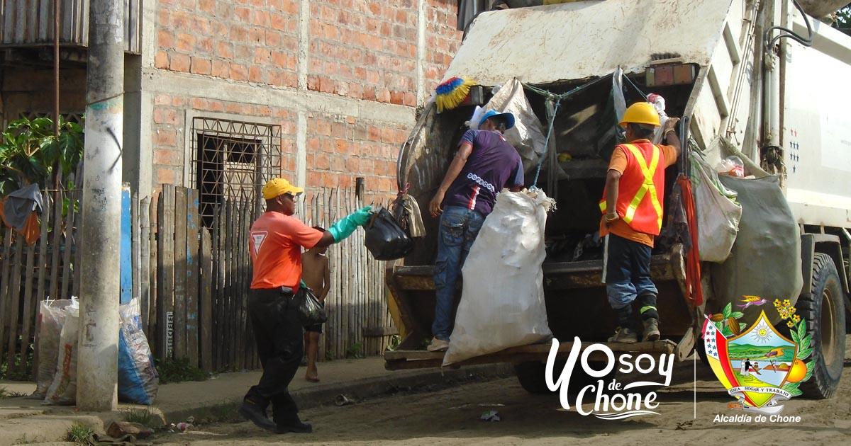 En feriado habrá recolección de basura normalmente