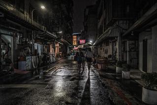 Black rain, Taipei