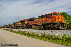 BNSF 9260 | EMD SD70ACe | NS Memphis District