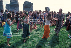 STONEHENGE FREE FESTIVAL 1970s SUMMER SOLSTICE WILTSHIRE ENGLAND