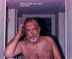 Halloween blood