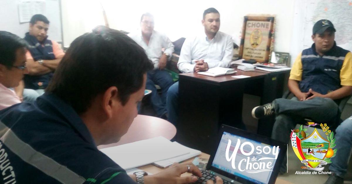 Técnicos de la Dirección de Desarrollo Económico realizan balance de feria Agroproductiva