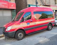 FDNY Division 6 Transport Van, Melrose, South Bronx, New York City