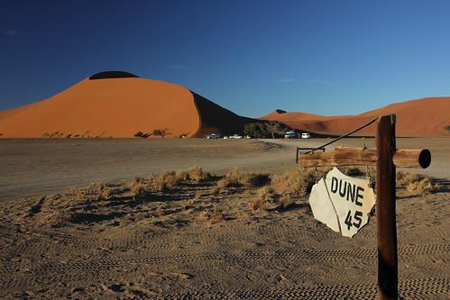 africa namibia sossusvlei sunrise morning desert dunes travel