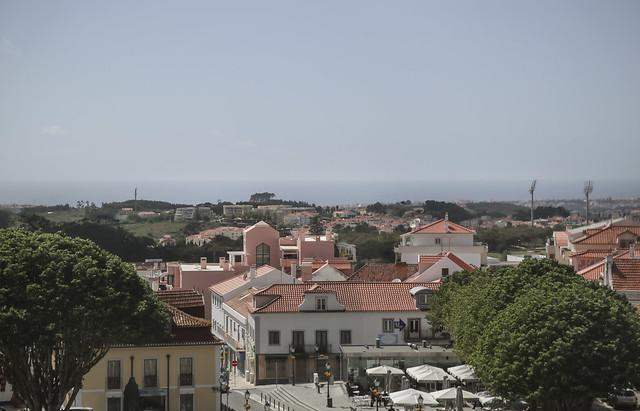 View from the window - Convent - Palácio Nacional de Mafra