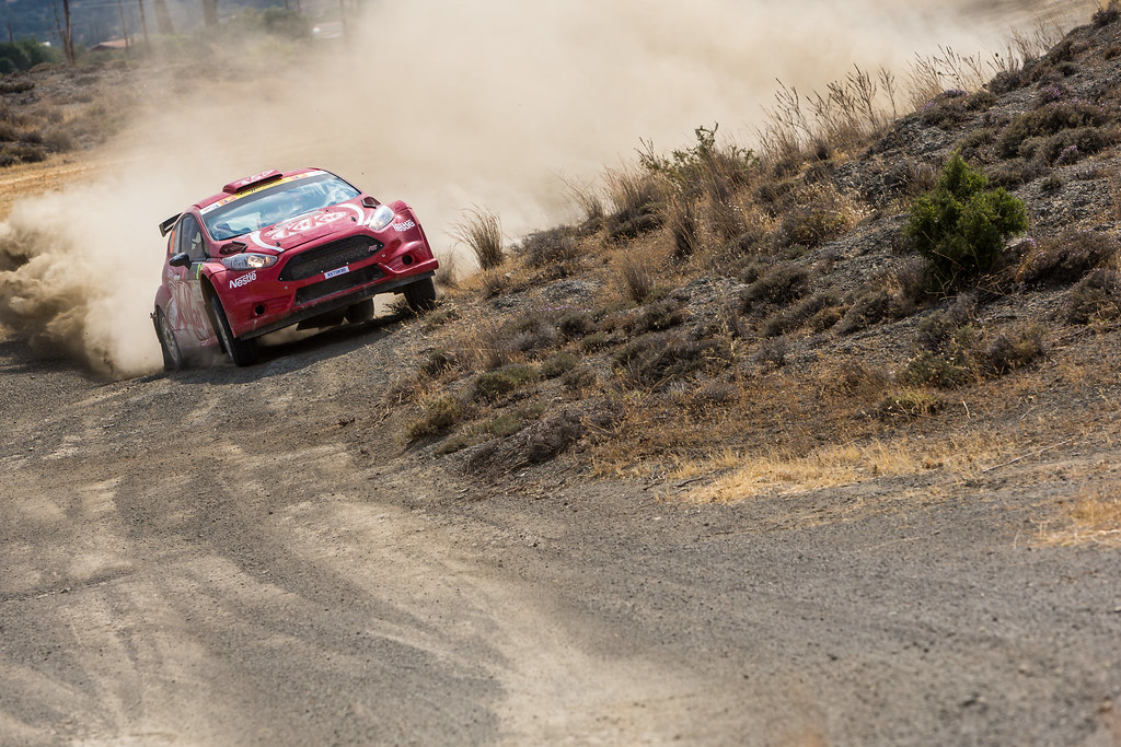 31 MANYERA Bora (tur) and GERKEZ Cem (tur) FORD FIESTA R5 action during the 2017 European Rally Championship ERC Cyprus Rally,  from june 16 to 18  at Nicosie, Cyprus - Photo Thomas Fenetre / DPPI