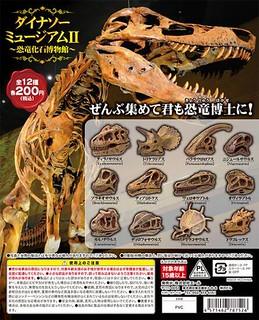《恐龍博物館》第二彈「恐龍化石博物館」!ダイナソーミュージアム2 ~恐竜化石博物館~