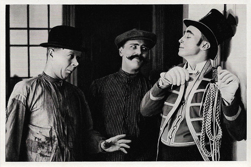 Georg Alexander, Harry Liedtke and Hubert von Meyerinck in Der Mann ohne Namen (1921)