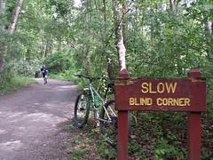 2017 Bike 180: Day 88 - Slow Blind Corner