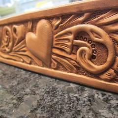 #leathercraft #handmade #instadog #dogsofinstgram #boxersofinstagram #canecorso