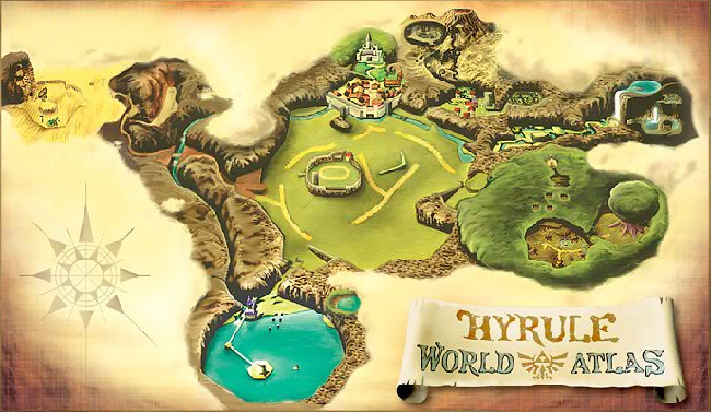 Ocarina of Time World Map (Picture Click) Quiz   By TheInfam0usThey