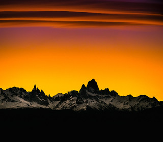 Sunset Cerro Fitz Roy