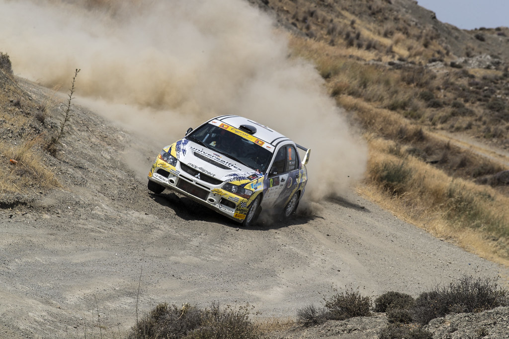 12 MELEGARI Zelindo (ita) and BARONE Maurizio (ita) ZELINDO MELEGARI MITSUBISHI LANCER EVO IX action during the 2017 European Rally Championship ERC Cyprus Rally,  from june 16 to 18  at Nicosie, Cyprus - Photo Gregory Lenormand / DPPI