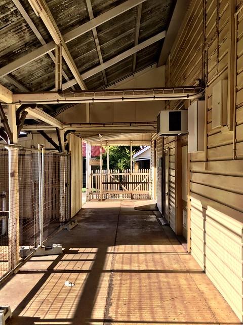 Sadly abandoned station. Maryborough.
