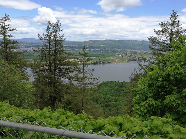 Sun, 06/04/2017 - 13:40 - Lunch stop along the Columbia River, my route for at least the next week