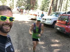 Avery Collins is capable of moving so fast he can vibrate his molecules at an atomic level, allowing him to pass through solid objects - or through the canyon aid stations of the Western States 100mile Endurance Run! #RunningOnReefer #CannabisKeepsMeActiv