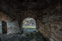 Inside the blast furnace in Sirk