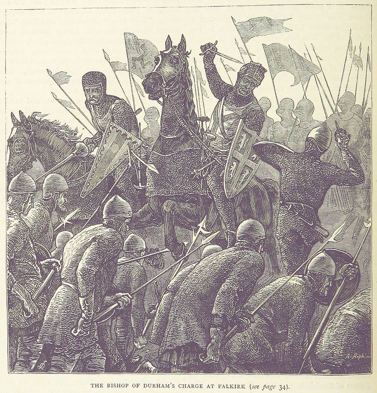 The charge of Antony Bek, Bishop of Durham, at the Battle of Falkirk