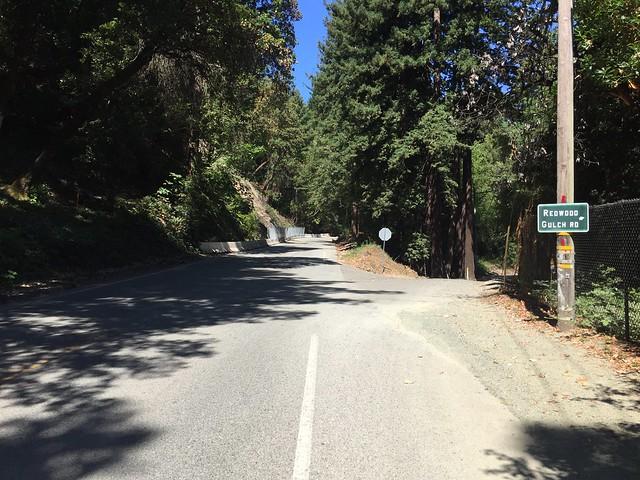 Redwood Gulch Rd.