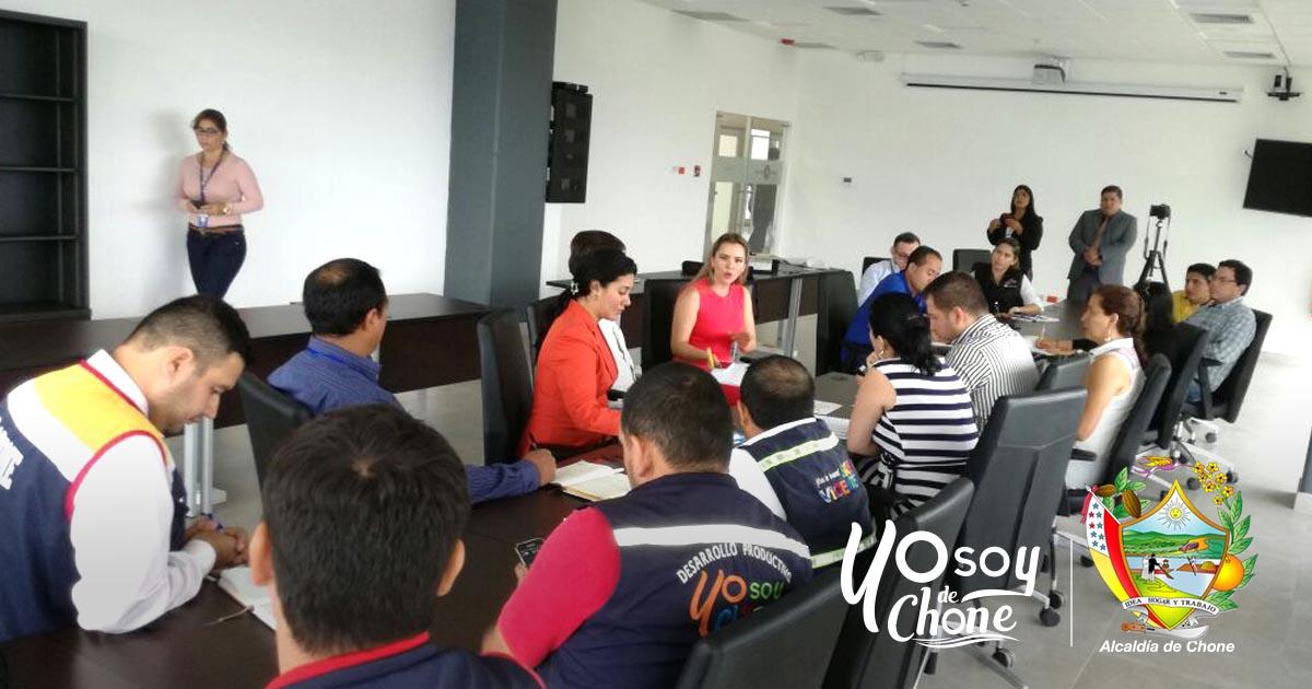 Funcionarios municipales de Chone participaron en congreso de emprendimiento
