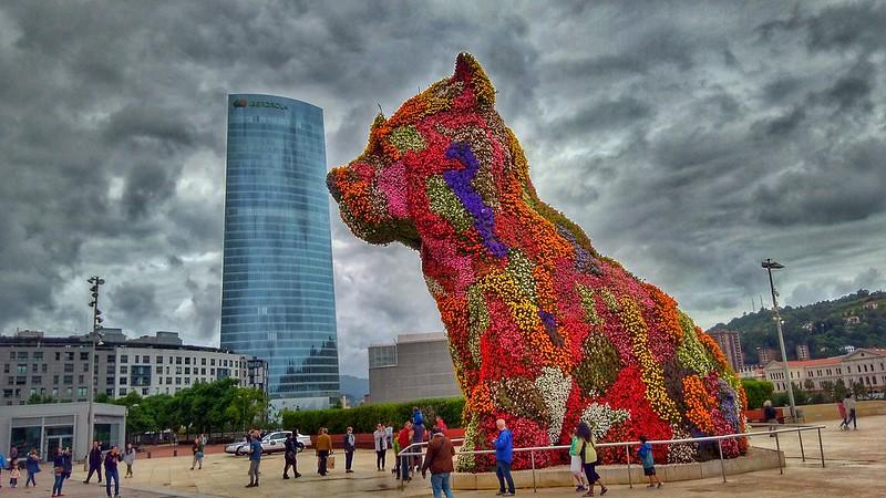 Puppy. Guggenheim Bilbao