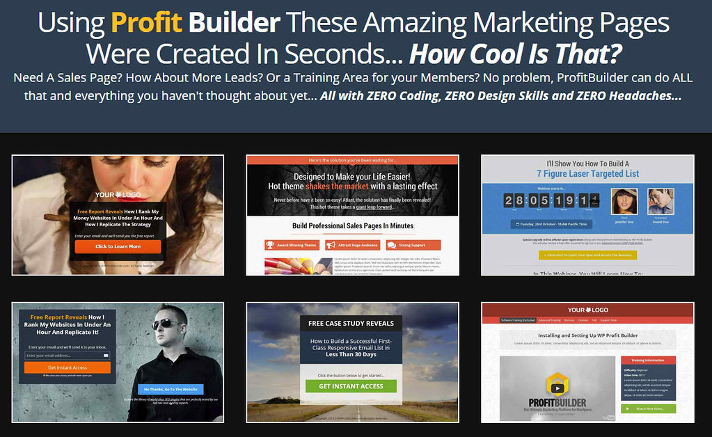 profit builder online marketing strategies