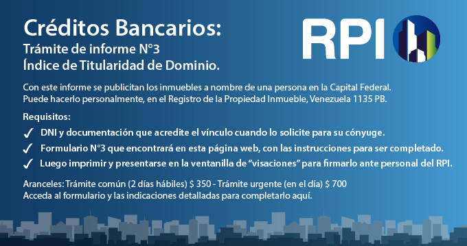 Indice de Titularidad para Creditos Hipotecarios