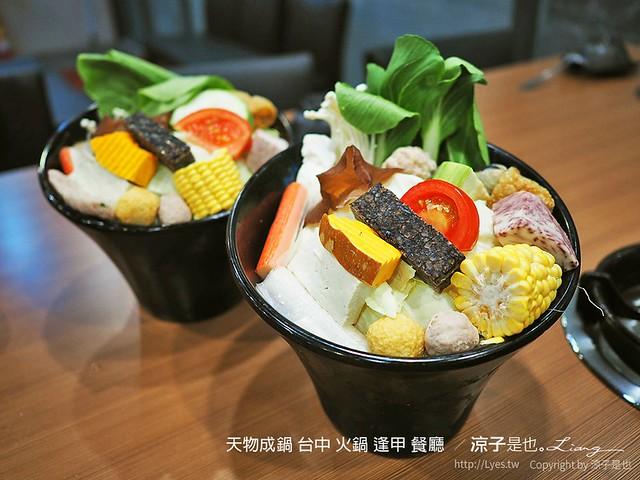 天物成鍋 台中 火鍋 逢甲 餐廳  49