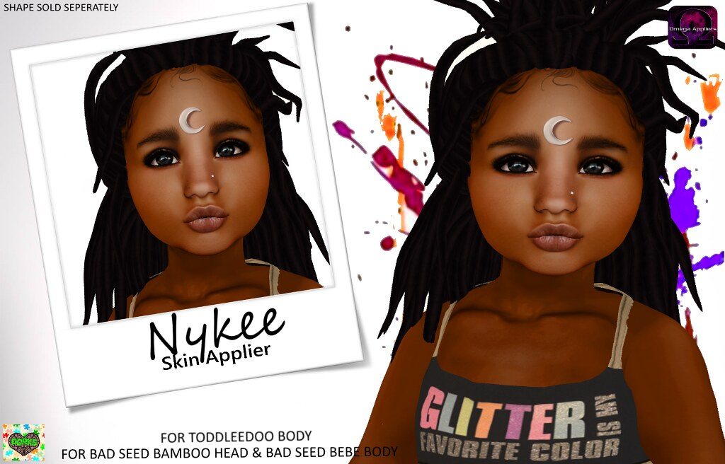 **DoRks** Nykee Skin - Toddleedoo Fair - SecondLifeHub.com