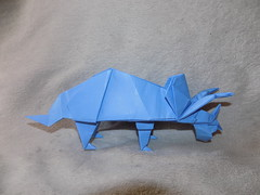 Triceratops by John Montroll