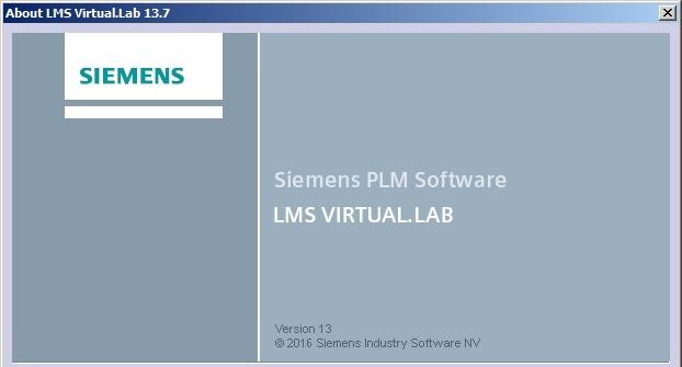 download Siemens LMS Virtual.Lab Rev 13.7 64bit full license working