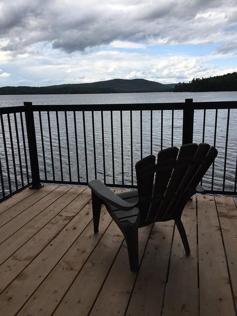 By Lake MacDonald