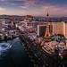 Las Vegas sunset by photoserge.com