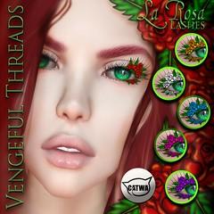 Vengeful Threads - Catwa Lashes - La Rosa_Ad