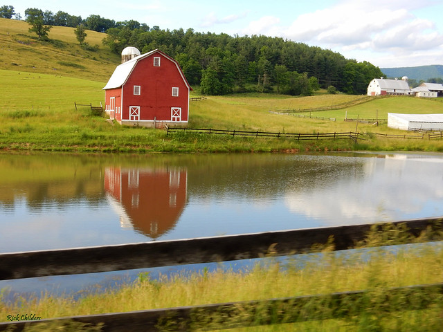 That Red Barn At, Nikon COOLPIX S9900