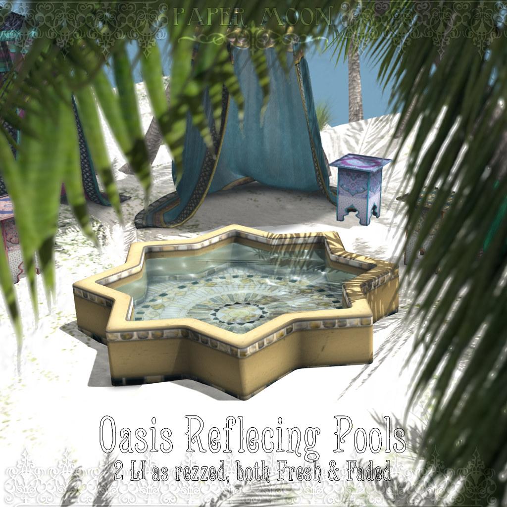 *pm* Oasis Reflecting Pools - SecondLifeHub.com