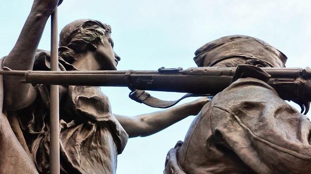 Toronto Boer War Memorial 1, Sony NEX-3, Sony E 18-55mm F3.5-5.6 OSS