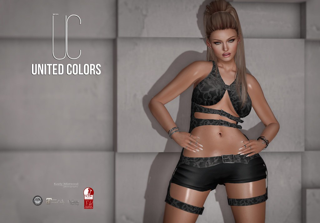 United Colors Leila Outfit available in 9 colors at Souled Out Event July 10 - SecondLifeHub.com