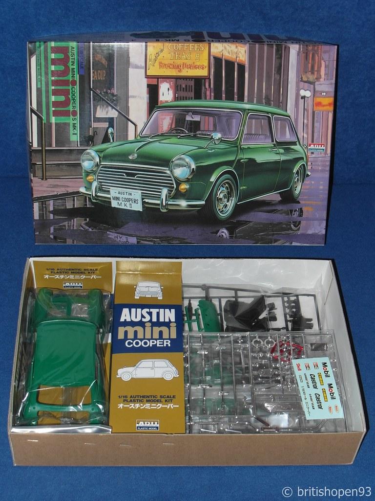 Mini Kit Collection Arii Austin Mini Cooper S Mk Ii 120 B Flickr