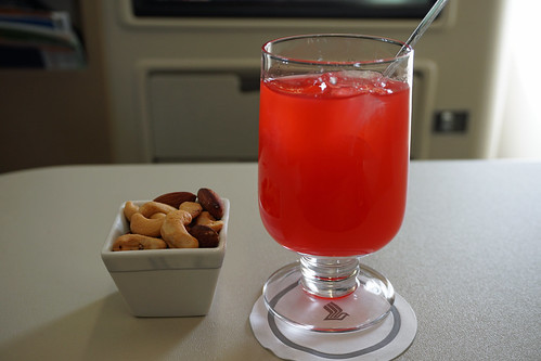 Singapore Airlines Drinks