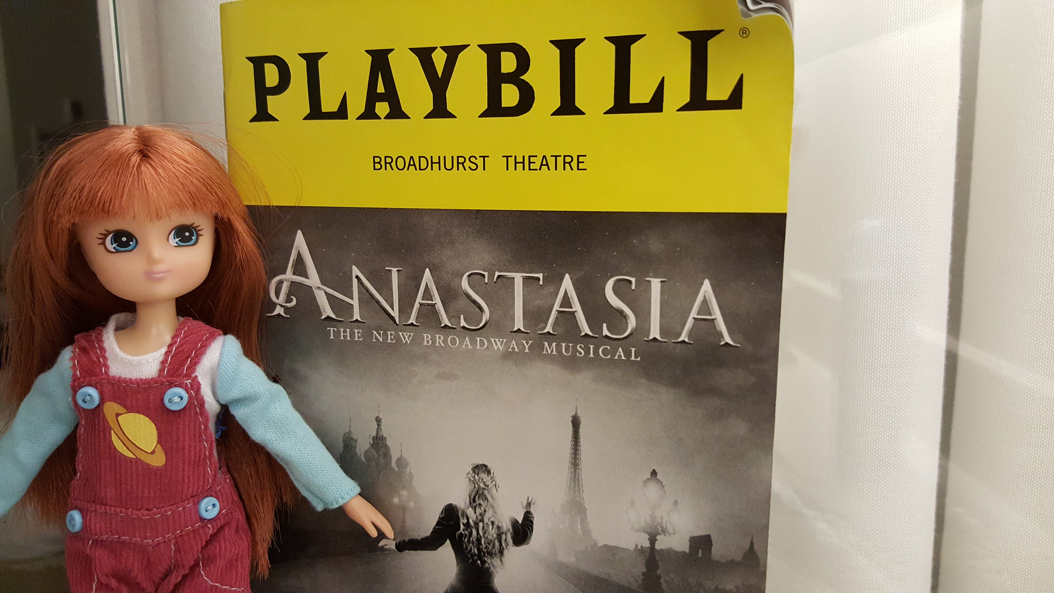 Anastasia on Broadway