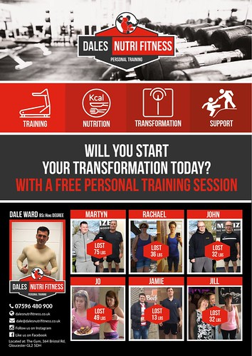 Dales NutriFitness Personal Training in Gloucester