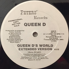 QUEEN D:QUEEN D'S WORLD(LABEL SIDE-B)