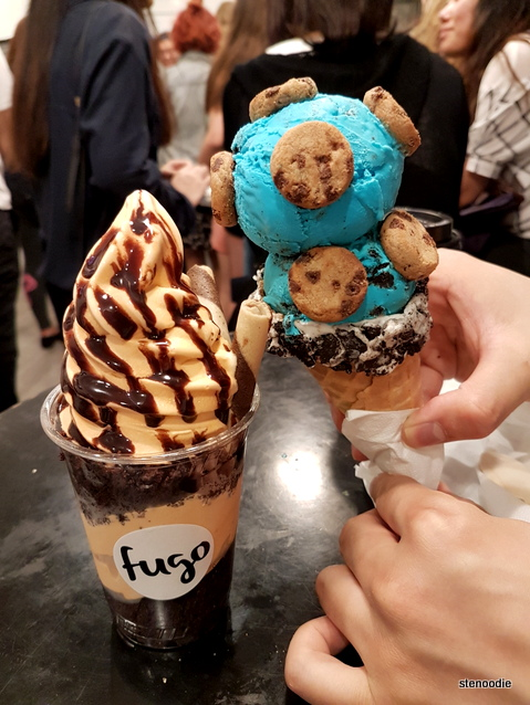 Fugo ice cream desserts