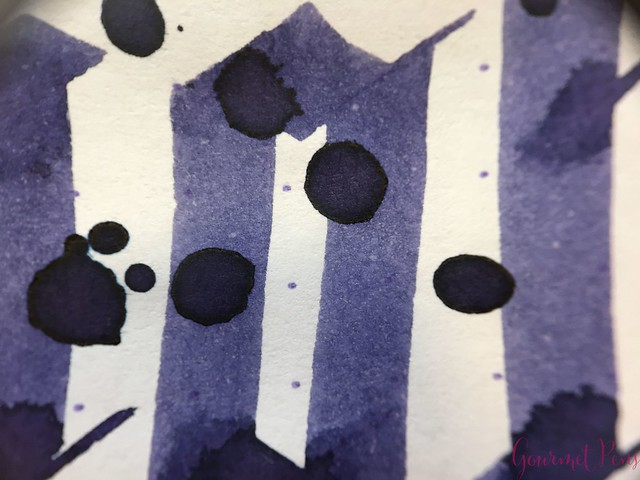 Ink Shot Review Diamine Anniversary Lilac Night @AppelboomLaren 9