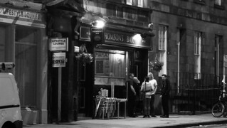 nocturnal street scene