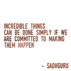 Make Things Happen: Inspirational Quote
