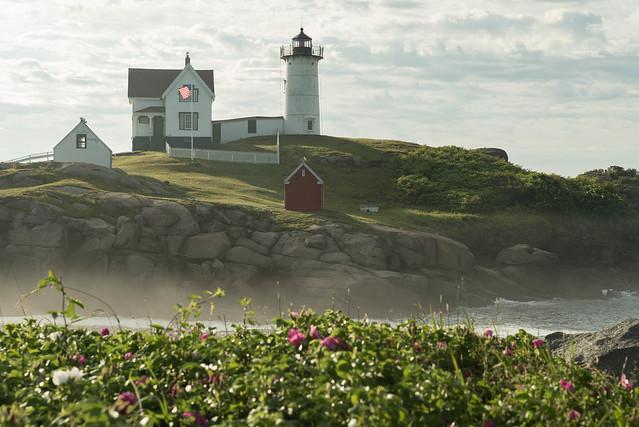 Nubble Lighthouse, Nikon D750, Sigma 24-70mm F2.8 IF EX DG HSM
